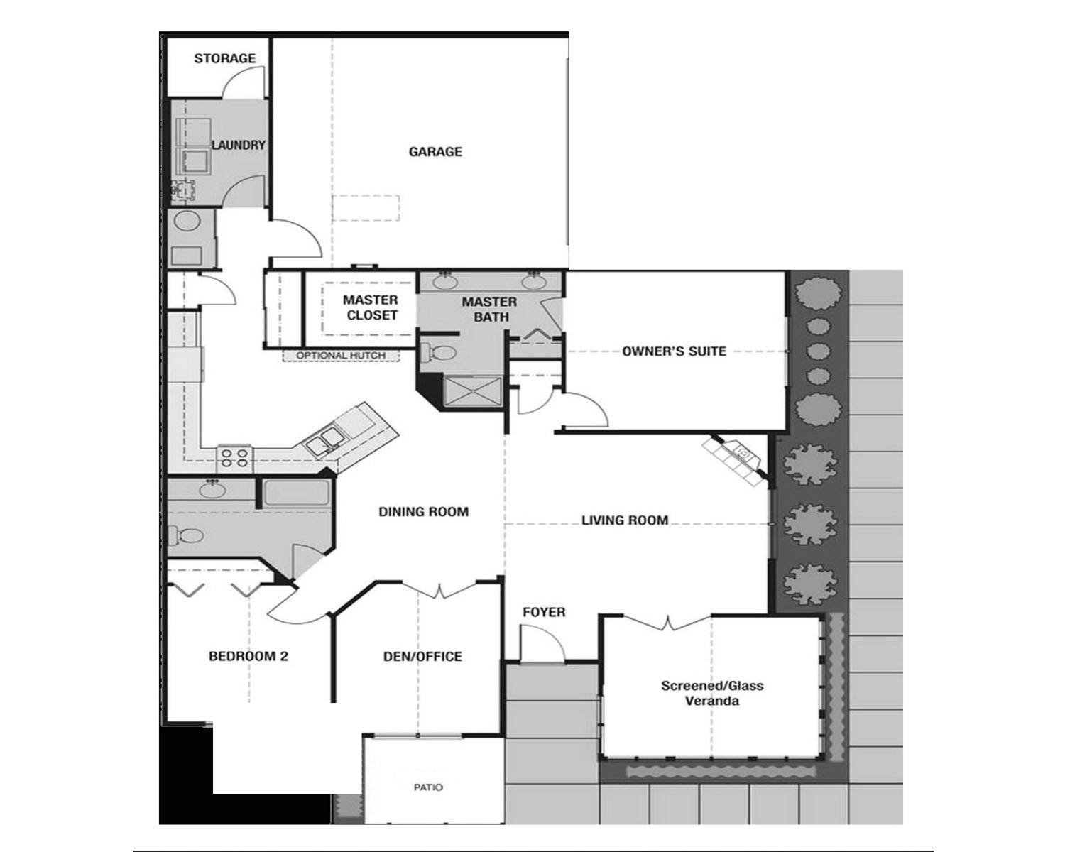 Canterbury Town Home Lifestyle Homes Of Distinction